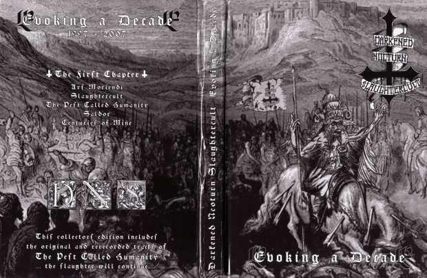 Darkened Nocturn Slaughtercult - Evoking A Decade - Digipack