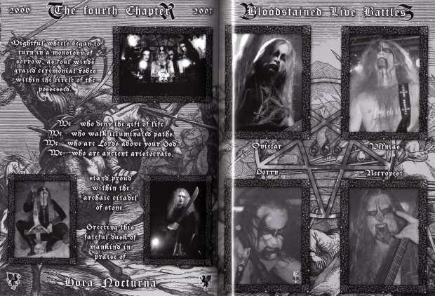 Darkened Nocturn Slaughtercult - Evoking A Decade - Inside (4-5)