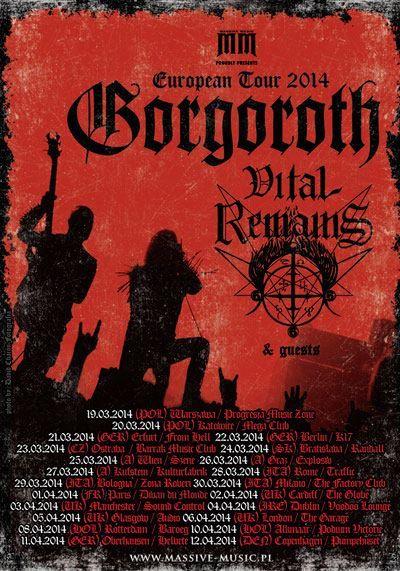 Gorgoroth european flyer